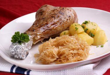Голень индейки с картошкой в духовке: рецепты