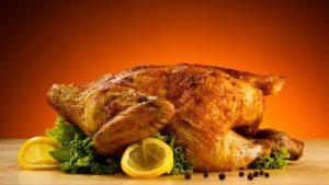 Курица гриль в духовке без вертела