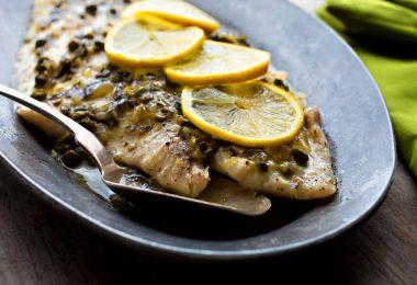Морской язык в духовке: рецепты с фото
