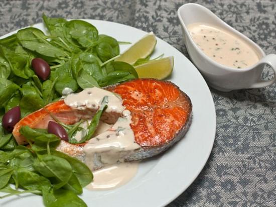 соус для запекания красной рыбы в духовке