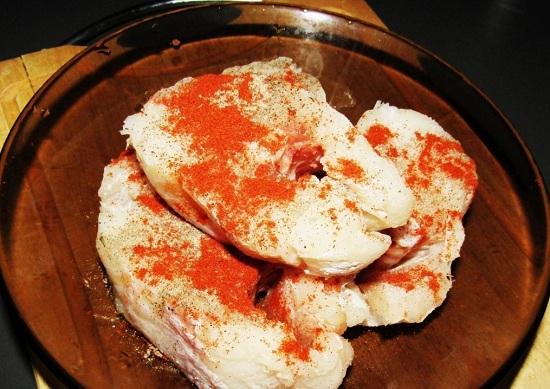 Посыпаем солью морской пищевой