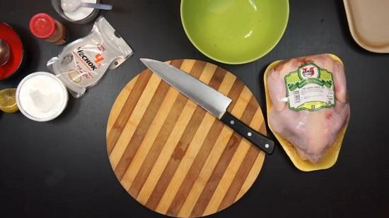 подготавливаем продукты, указанные в рецепте