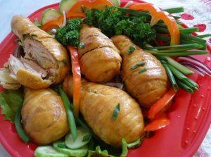 Рецепт куриных голеней в слоеном тесте