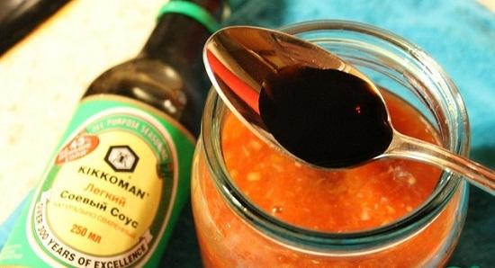 Долейте соевый соус
