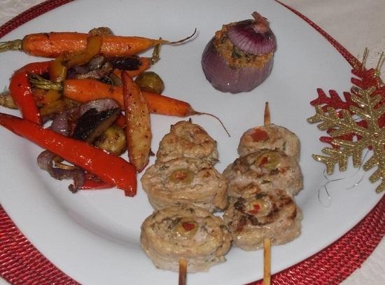 овощной гарнир к курице