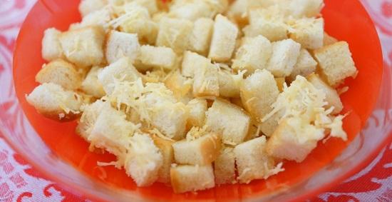 сухарики в сырной панировке