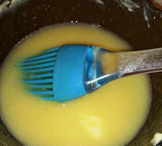 Слегка прогреем «апельсиновое масло»