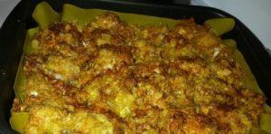 филе курочки в чипсах под соевым соусом