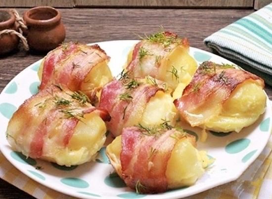 Картофель «в шубке»