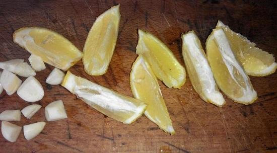 Лимон промываем хорошенечко водой