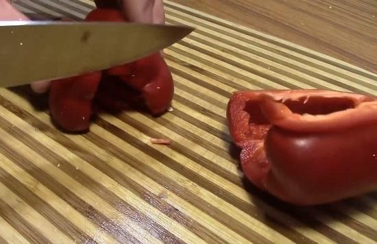 Шинкуем овощ соломкой