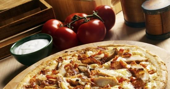 Домашняя быстрая пицца в духовке на кефире