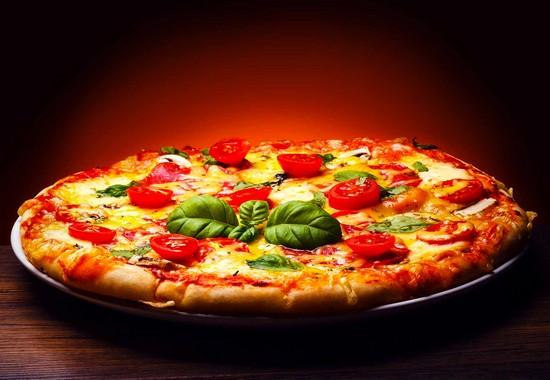 итальянская быстрая пицца в духовке