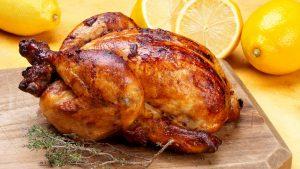 Курица в пиве в духовке (на банке, с картошкой, рисом)