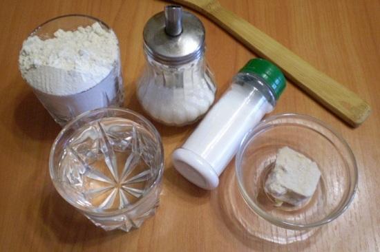 Подготовим все нужные нам продукты