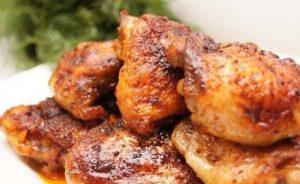 Курица, запеченная в пиве в духовке