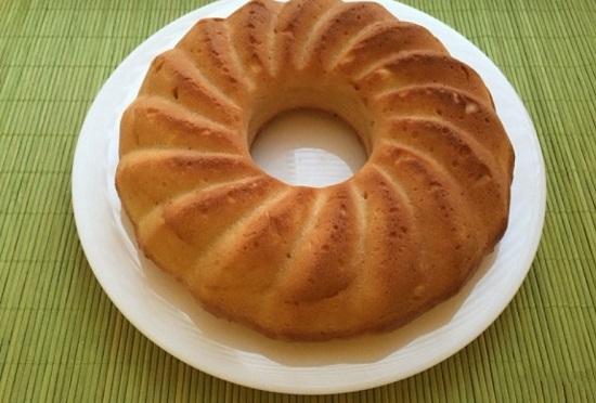 Творожный кекс в духовке: простой рецепт