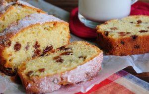 Рецепт кекса с изюмом в духовке: классический вариант