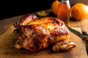 Как вкусно запечь курицу с медом?