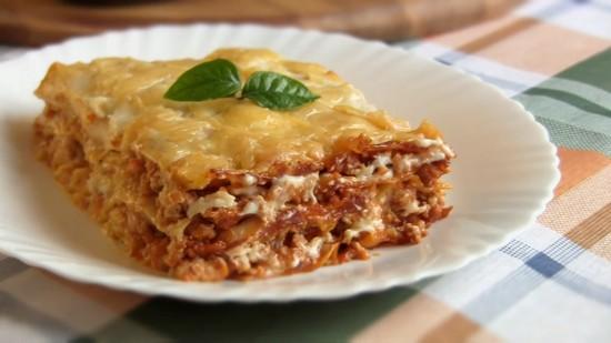 Классический рецепт лазаньи с фаршем в духовке