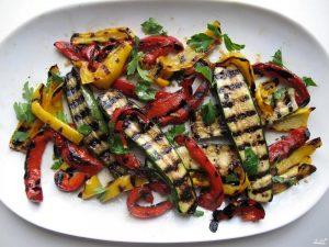 Как приготовить аппетитные овощи гриль в духовке?