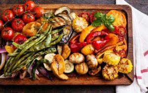 Овощи-гриль в духовке на решетке