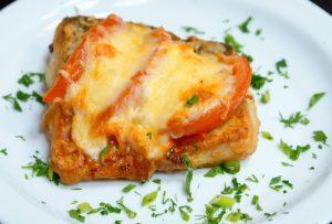 Филе тилапии в духовке с сыром