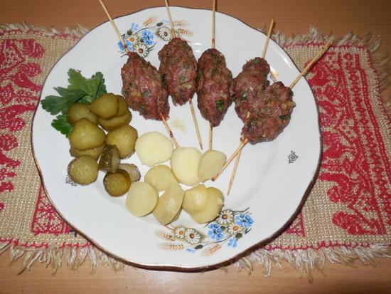 люля-кебаб рецепт в духовке на шпажках