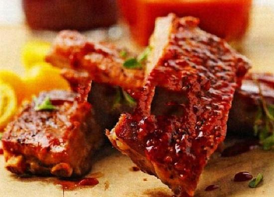 Говяжьи ребрышки с картошкой в духовке — рецепт с фото пошагово ... | 395x550