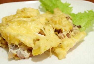 Рецепты: говядина с картофелем в духовке
