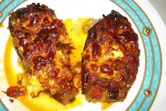 Баклажаны с чесноком в духовке: рецепты