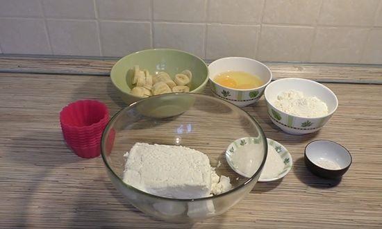 воздушные сырники в силиконовых формочках в духовке