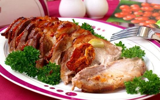 Свинина в итальянском стиле