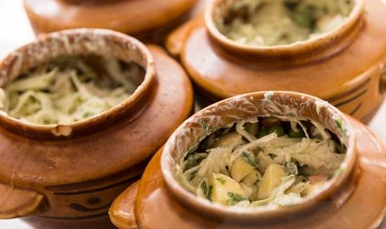 рагу из овощей с добавлением капусты