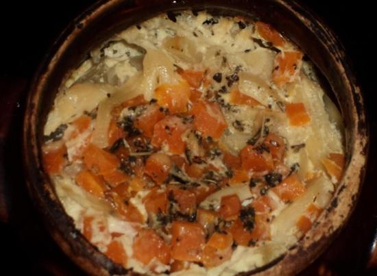 Овощное рагу в горшочках в духовке: рецепты