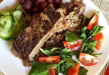 Говядина с гречкой в духовке: рецепты