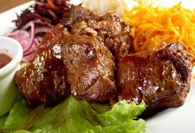 Рецепты шашлыка из говядины в духовке