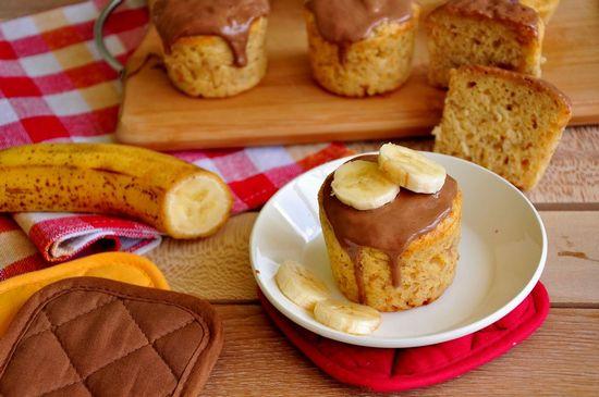 Рецепты кекса с бананом в духовке