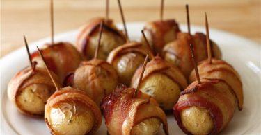 Картофель в беконе, запеченный в духовке: рецепты и советы по приготовлению