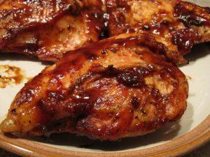 Вкус запеченных куриных бедер