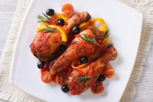 запеките куриные окорока до румяной корочки
