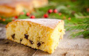Бисквит с изюмом: рецепты
