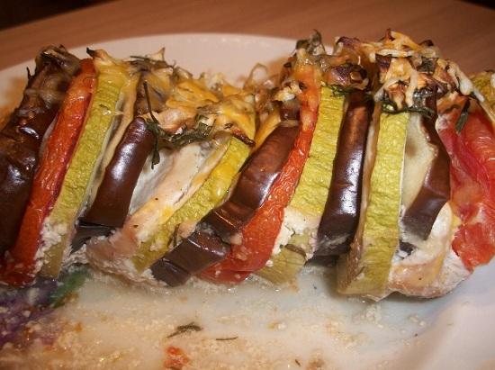 запечь баклажаны и кабачки в духовке