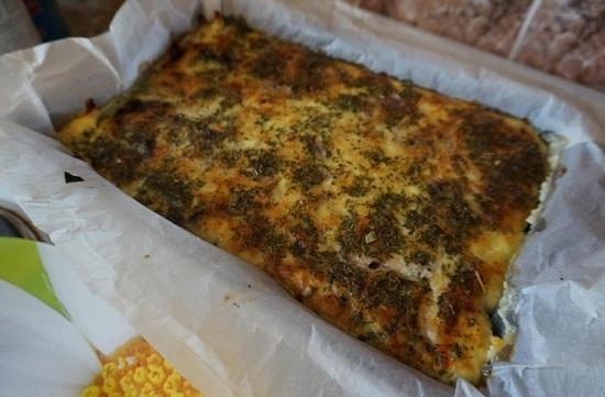 Брокколи в омлете в духовке: рецепт