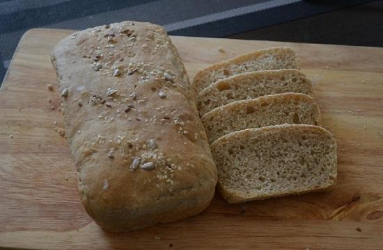 Хлеб цельнозерновой бездрожжевой: рецепт в духовке