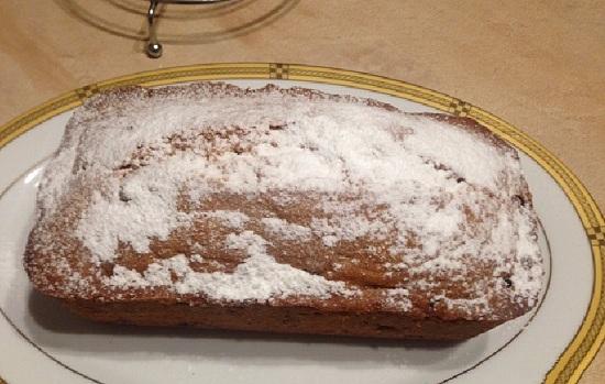 Бисквитный кекс к праздничному чаепитию