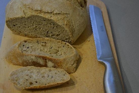 Рецепт пшенично-ржаного хлеба в духовке
