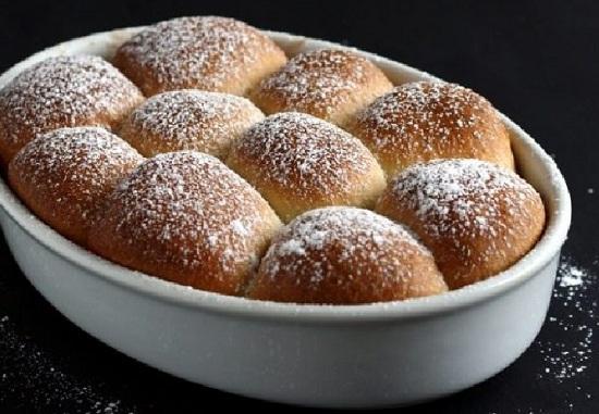 удачного рецепта булочек сладких в духовке