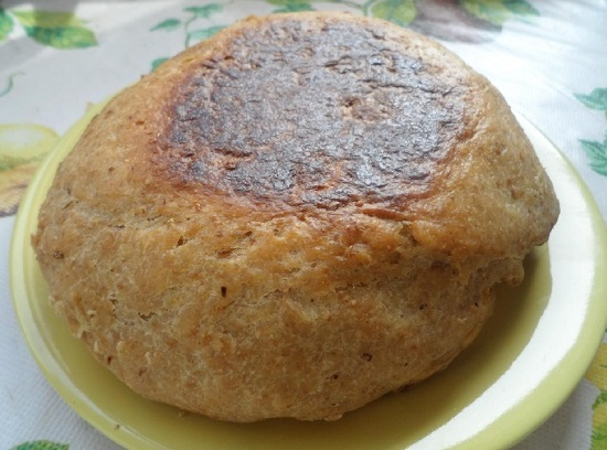 Хлеб диетический с отрубями