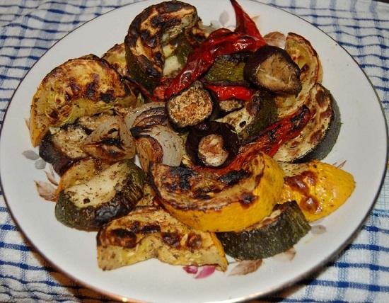 Баклажаны гриль в духовке: рецепт с фото